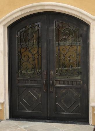 Door Iron Inserts